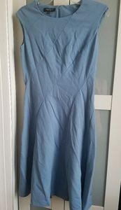 Lafayette blue sleeveless dress